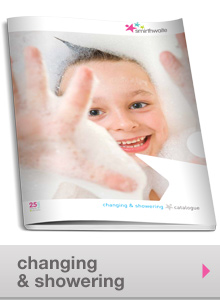 changing and showering equipment range for children with special needs