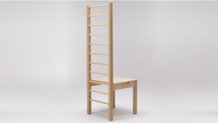 High ladder back chairs