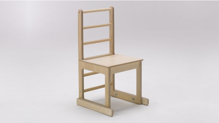 Low ladder back chairs